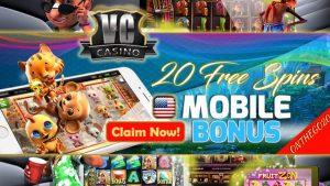 Vegas Crest Casino USA Mobile Bonus