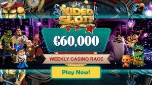 Videoslots Casino Cash Race