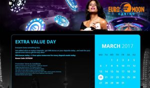 Euromoon Casino promotions
