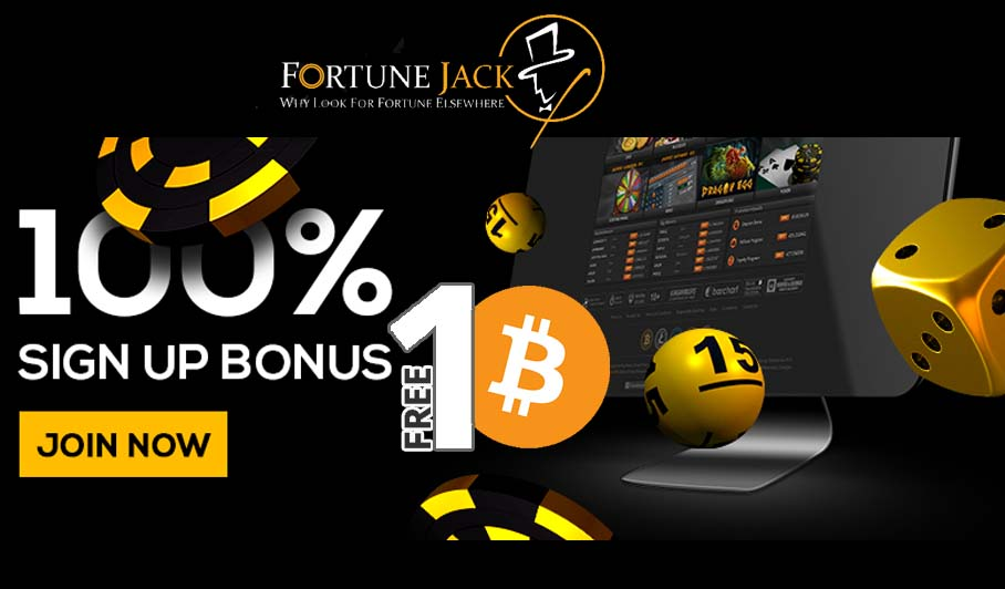 FortuneJack Bonus for New Players Grants 1 BTC in Cash