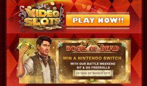 Videoslots win Nintendo Switch