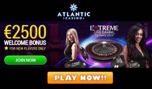 Atlantic Casino Club Welcome Bonus