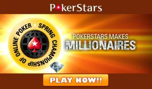 PokerStars Free Spin and Go