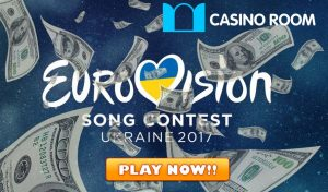 Casino Room Eurovision 2017 promotion