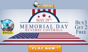 Memorial Day bingo promotion
