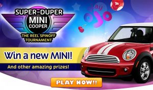 PlayOJO Casino Mini Cooper giveaway