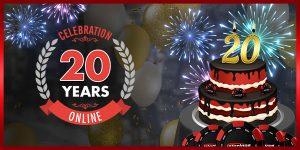 20th Birthday of Intertops Casino