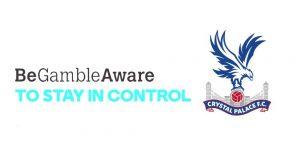 Crystal palace and gambleaware partnership