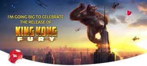 playojo king kong fury promotion