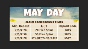 may day bonus