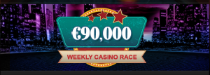 weekly casino races