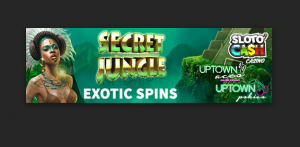 exotic spins at slotocash and uptown aces
