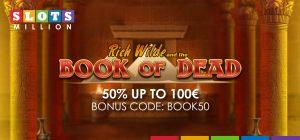book of dead bonus at slotsmillion