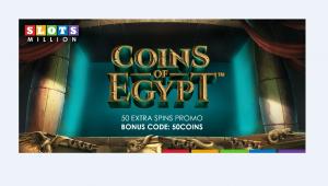 coins of Egypt at slotsmillion