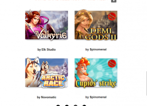 4 new games at slotsmillion