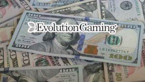evolution gaming buy up netent