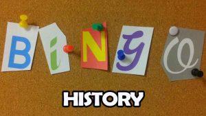 origins of bingo and bingo history
