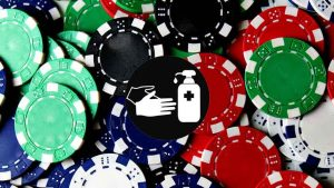 Antimicrobial Casino Chips