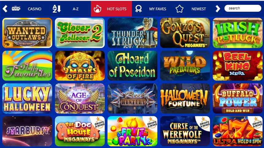 Spin hill Casino Review