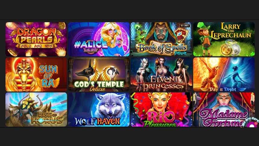Lucky Bar Casino Review games