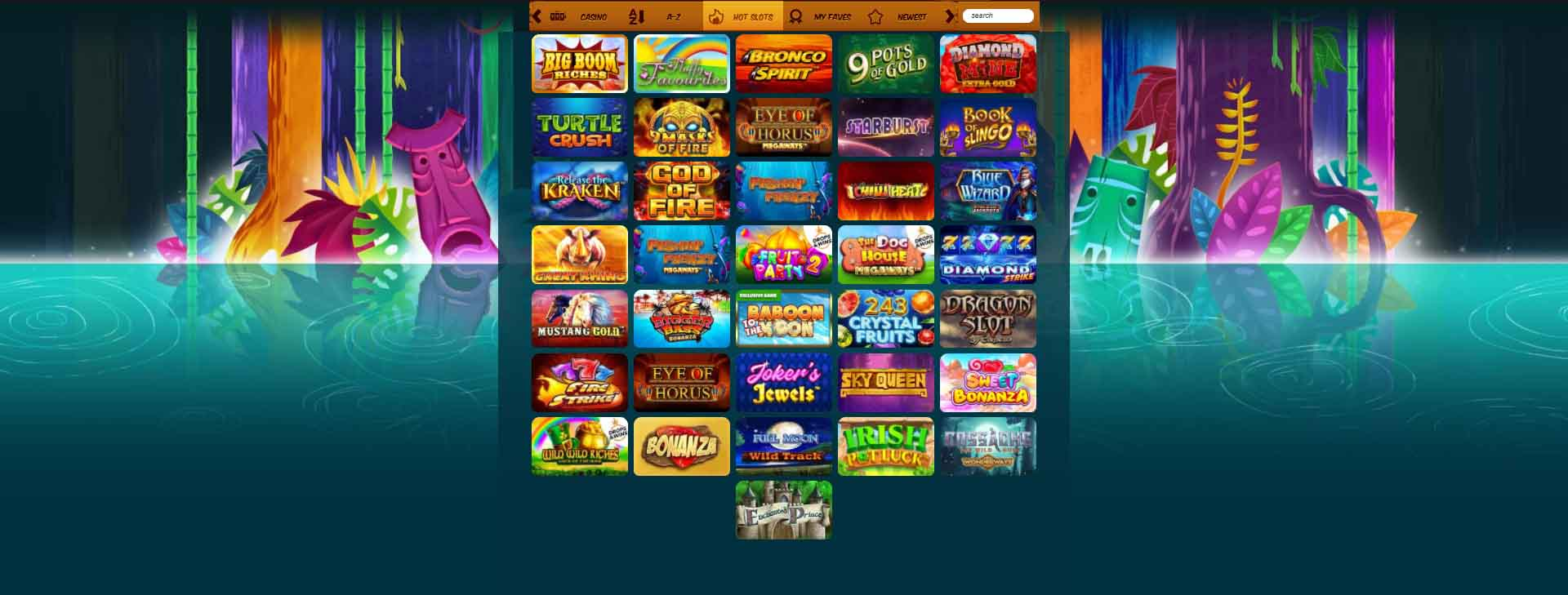 Amazon Slots Casino Review