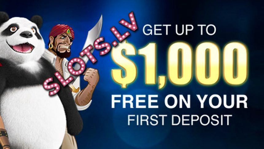 Slots.Lv Welcome Bonus