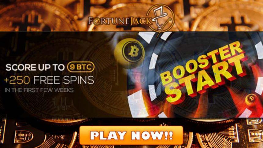Get 9 Btc Bonus 250 Bitcoin Casino Free Spins At Fortunejack Casino